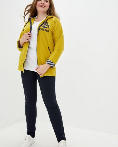 Костюмный желтый спортивный костюм Tailer