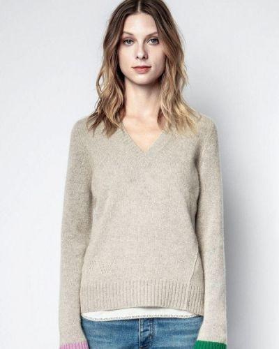 Пуловер - серый Zadig & Voltaire