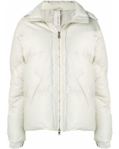 Кожаная куртка с капюшоном на молнии Giorgio Brato