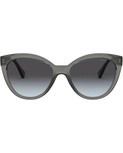Szare okulary Ralph Lauren