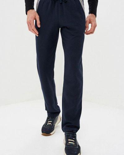 Синие домашние брюки Emporio Armani
