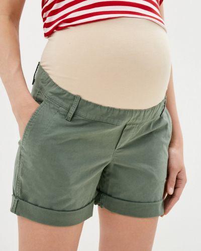 Повседневные зеленые шорты для беременных Gap Maternity