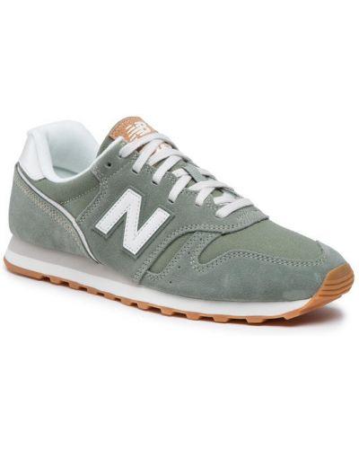 Zielone sneakersy New Balance