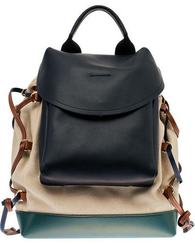 Кожаный рюкзак черный Marni