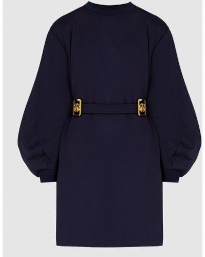 Платье миди - синее Lanvin