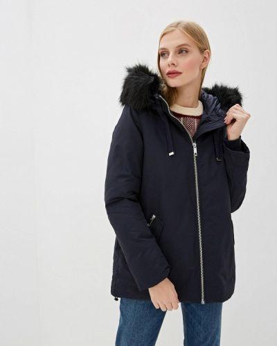 Синяя утепленная куртка Vero Moda