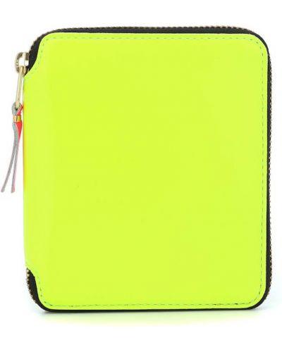 Желтый кошелек из натуральной кожи Comme Des Garã§ons Wallet