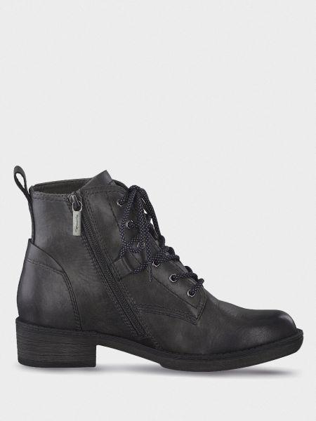 Кожаные ботинки - серые Tamaris