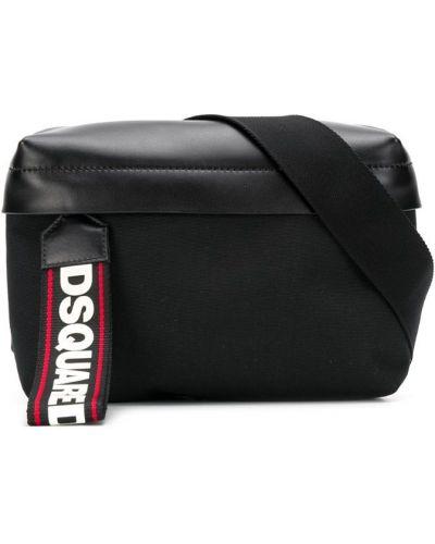 Поясная сумка на молнии с логотипом Dsquared2