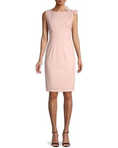 Платье-футляр без рукавов Calvin Klein