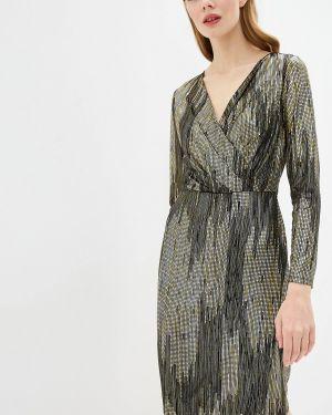 Платье с запахом осеннее Wallis