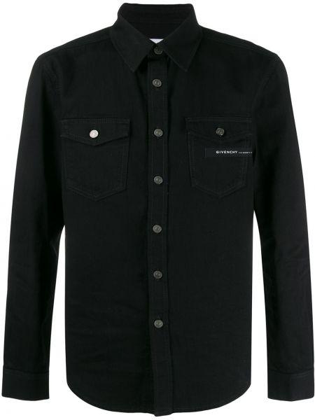 Koszula z długim rękawem klasyczna z logo Givenchy