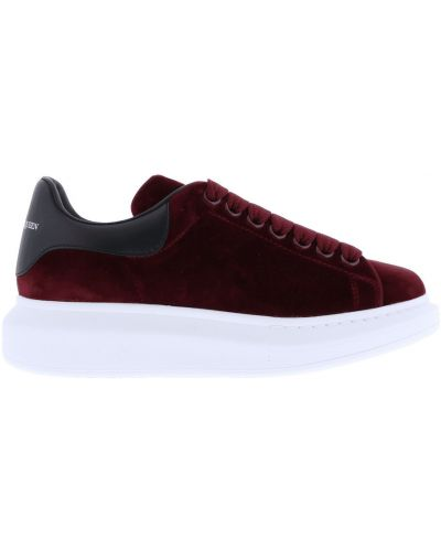 Sneakersy skorzane Alexander Mcqueen