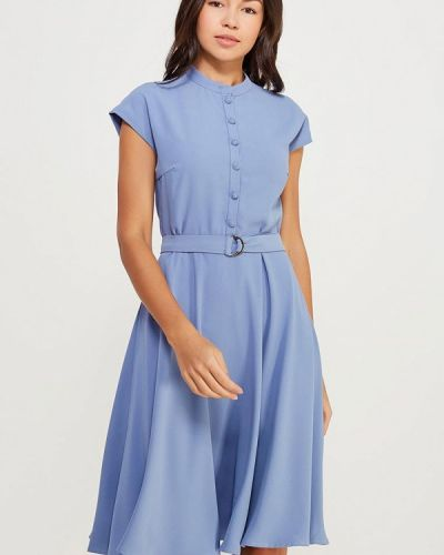 Синее платье весеннее Lusio