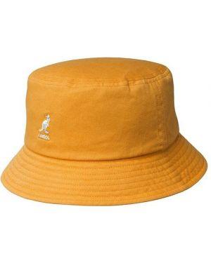 Желтая шапка Kangol
