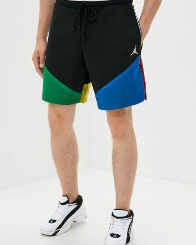 Черные спортивные шорты Jordan
