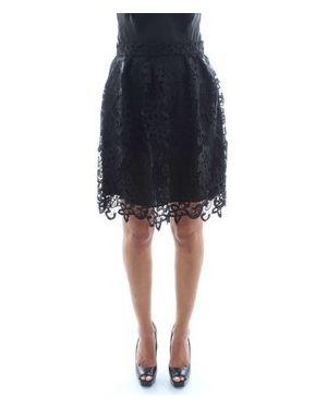 Czarna spódnica mini Atos Lombardini