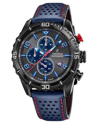 Zegarek sportowy - granatowy Festina