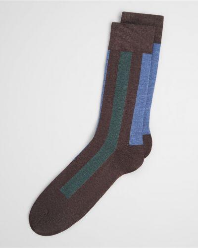Носки в полоску коричневый Henderson