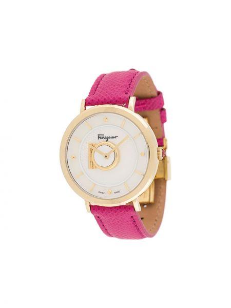 Zegarek szary różowy Salvatore Ferragamo Watches