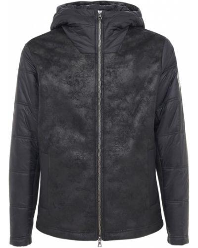 Черная куртка двусторонняя Ea7 Emporio Armani