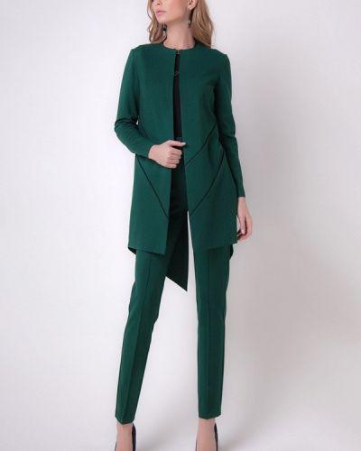 Зеленый брючный костюм Olga Skazkina