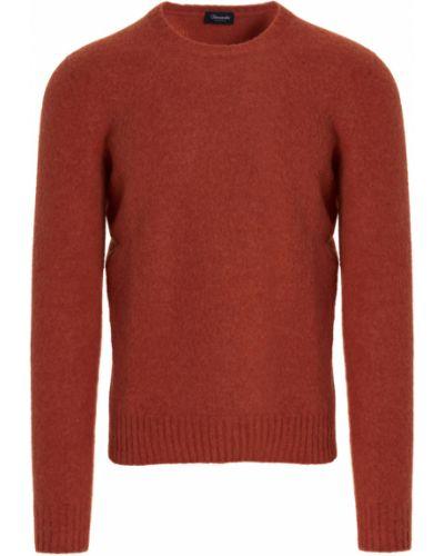 Sweter - pomarańczowy Drumohr