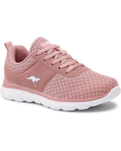 Różowe buty sportowe casual Kangaroos