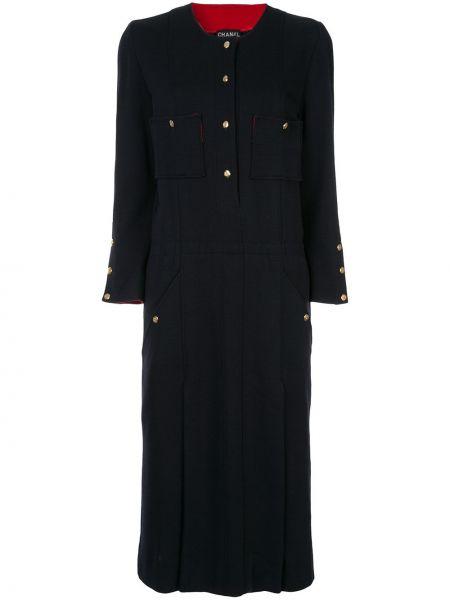Платье винтажная на пуговицах Chanel Pre-owned