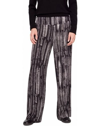 Czarne spodnie miejskie Sarah Pacini