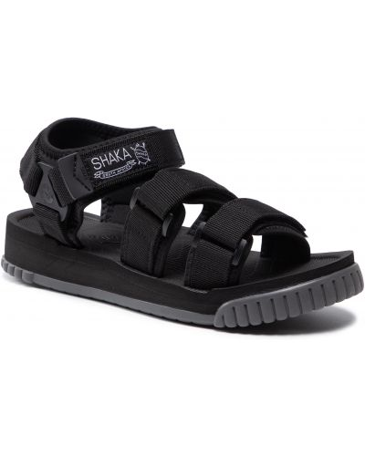 Czarne sandały na lato Shaka