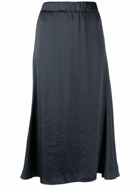 Синяя юбка атласная Luisa Cerano