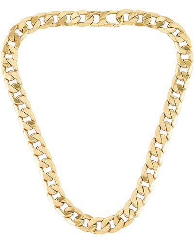 Złoty naszyjnik pozłacany oversize Baublebar