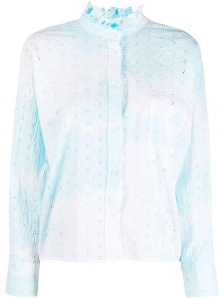 Biała koszula bawełniana z długimi rękawami Forte Dei Marmi Couture