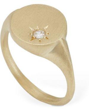 Złoty pierścionek Lil