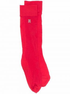 Красные носки Wolford