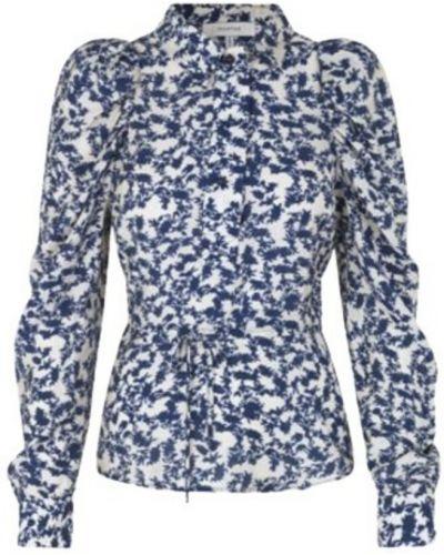 Niebieska koszula Munthe