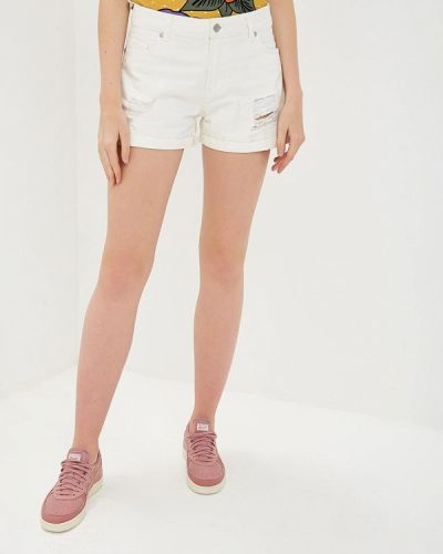 Джинсовые шорты белые Sh