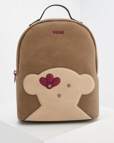 Бежевый рюкзак Tous