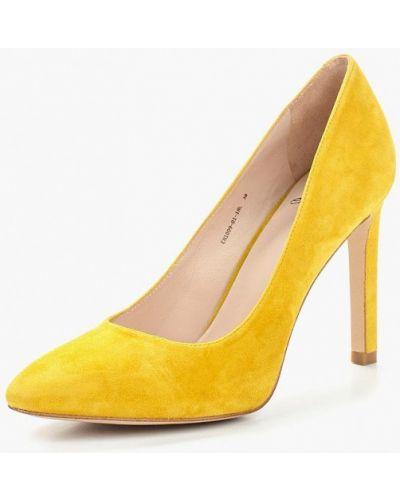 Желтые туфли-лодочки Ekonika