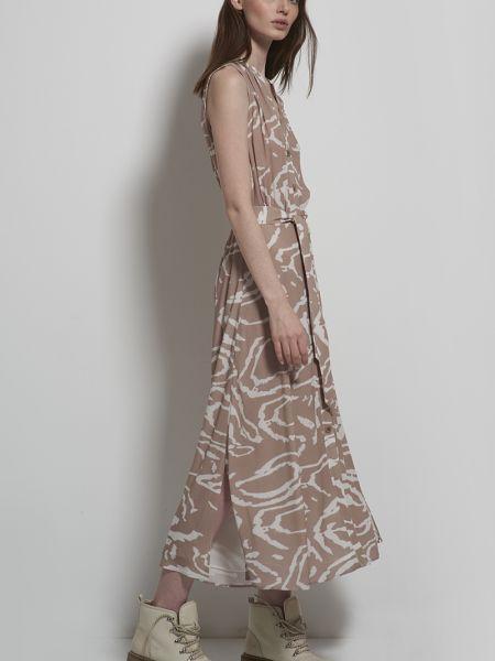 Платье из вискозы длинное Vassa&co