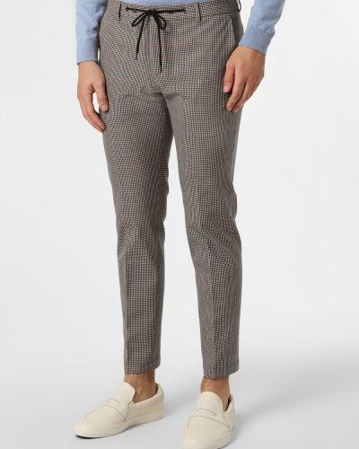 Beżowe spodnie sportowe Finshley & Harding