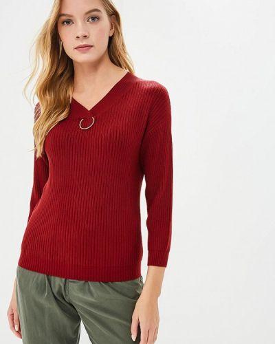 Пуловер красный бордовый Milanika