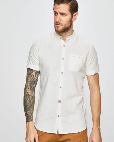 Рубашка с короткими рукавами однотонная с карманами Medicine