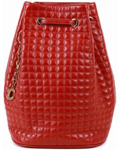 Czerwona torebka skórzana Céline