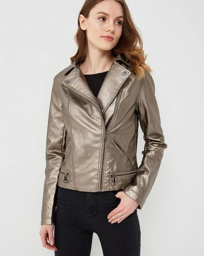 Коричневая куртка B.style