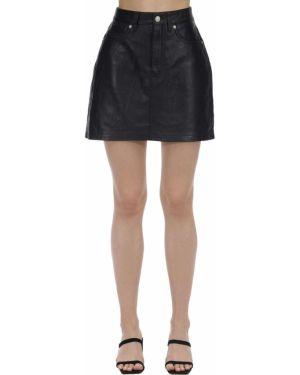 Юбка мини кожаная пачка Calvin Klein Jeans