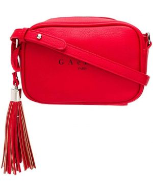 Сумка через плечо из полиэстера - красная Gaelle Bonheur
