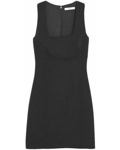 Черное платье на молнии Mango