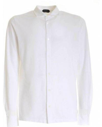 Biała koszula Zanone